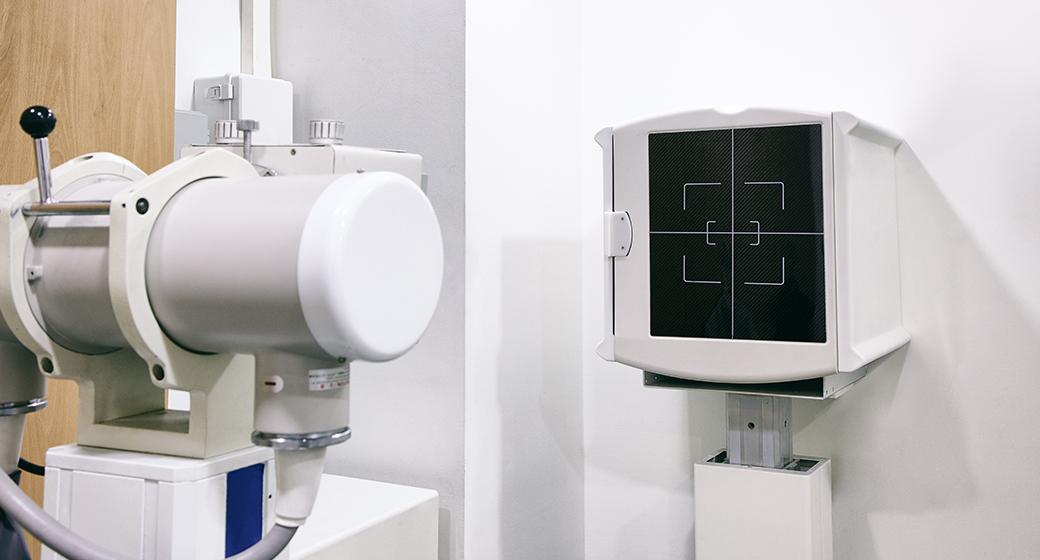 CT실 흉부 X-ray