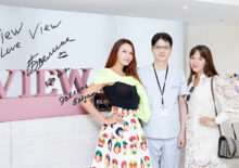 Russian celebrities Evelina Broden and Kira Sorokina visited View Plastic Surgery Clinic.