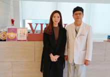 Announcer Jeongyeon Kim visited View Plastic Surgery Clinic.
